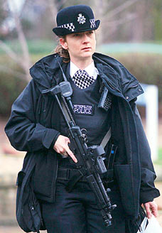 British policewoman