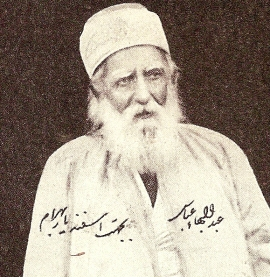Portrait of Abdu'l-Baha in Badayi'u'l-athar