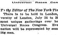 NY Times June 13, 1911